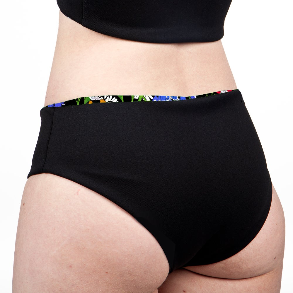 Image of Botanical Bees Low Rise Cheeky Shorts