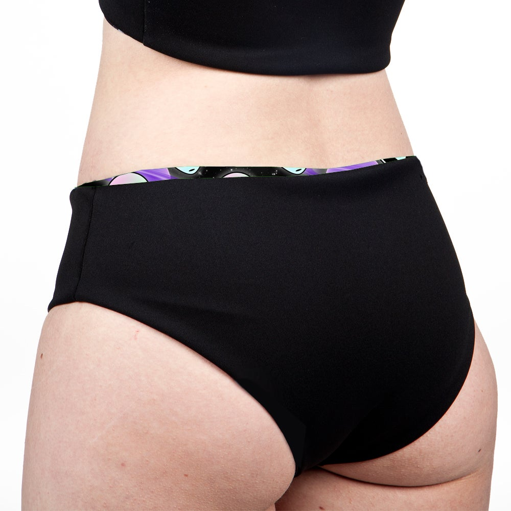Image of Aliens Low Rise Cheeky Shorts