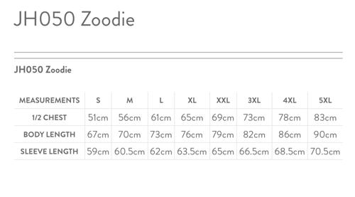 Image of ZIP HOODIE