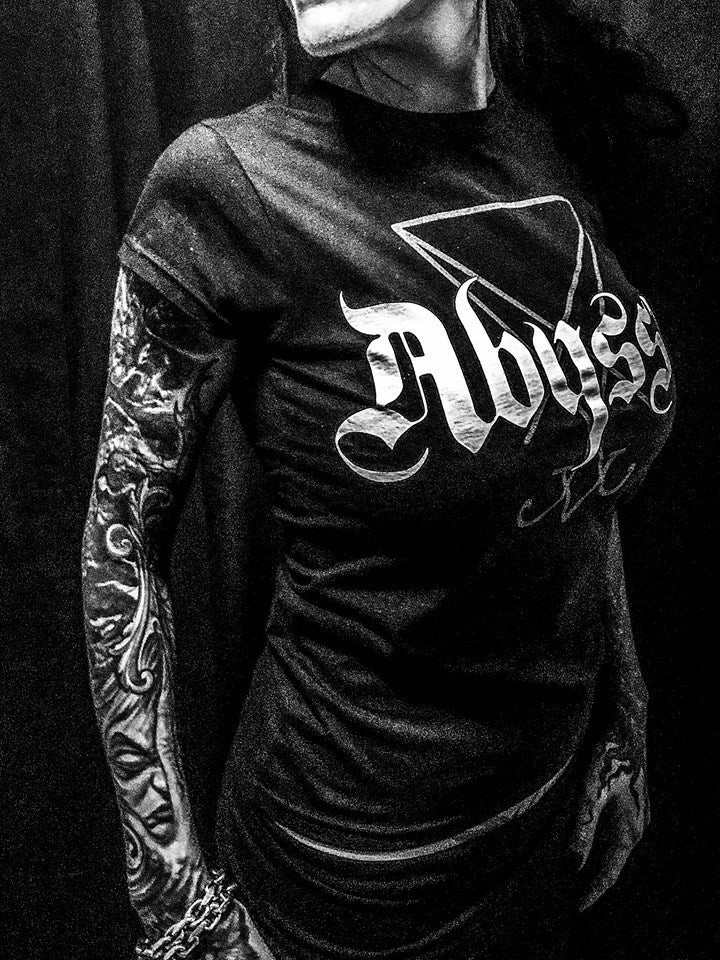 Image of Abyssic - Lucifers Sigil Girlie T-Shirt