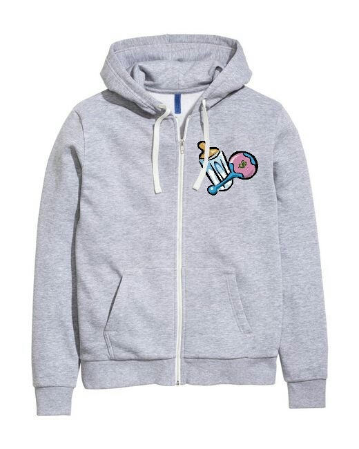 Image of G.A.K Zip-up Hoodie