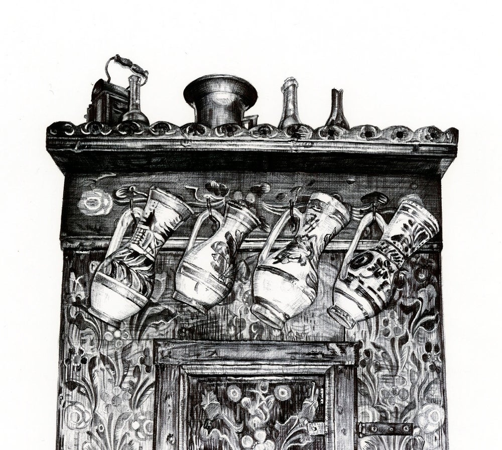 Image of THE CUPBOARD LIMITED EDITION PRINT