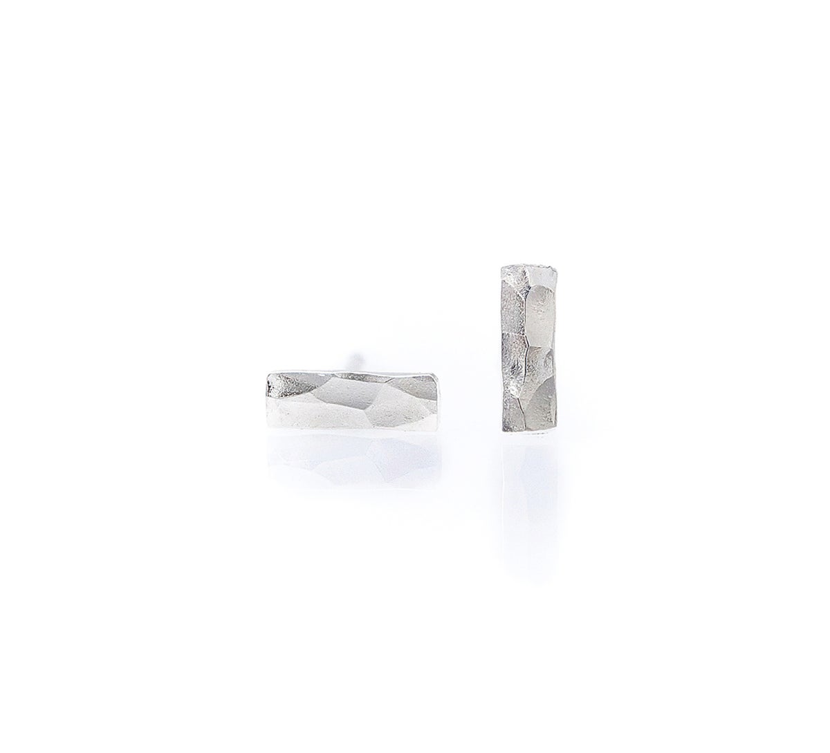 Image of Bar Stud Earrings