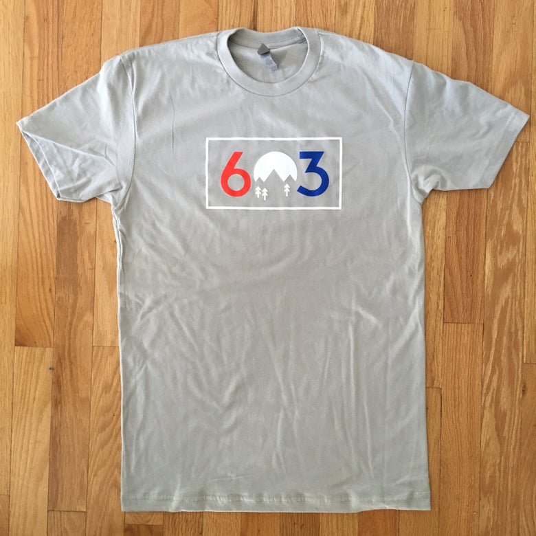 Image of 603 red white and blue - unisex