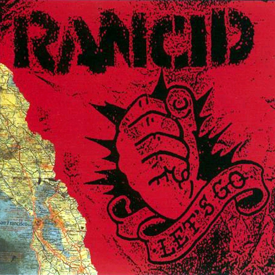 Image of Rancid - Let's Go (20th Anniversary LP)