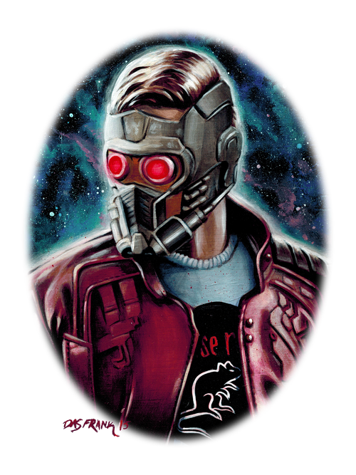 Image of Burt Macklin, Starlord T-Shirt