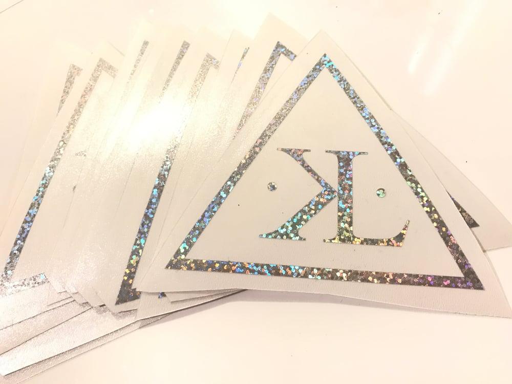 Image of KYU1LLUMINATI Vinyl Sticker