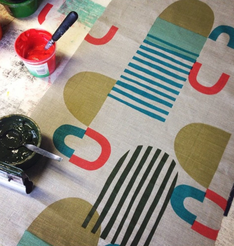 Image of Screen Printing with Cath D. Sunday Feb 24th 2-5pm OR Saturday March 23rd 2-5pm