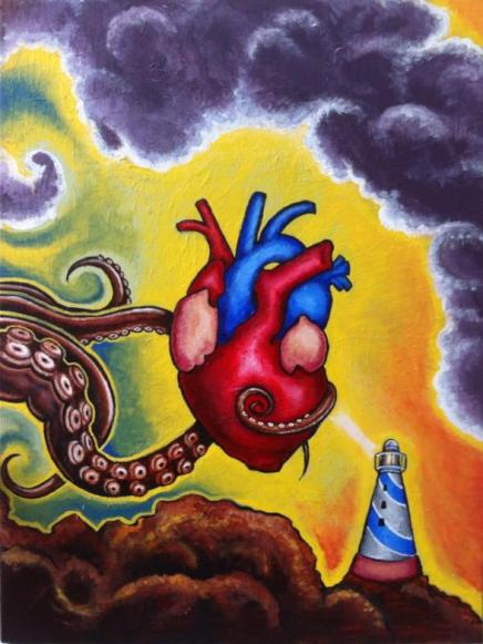"Image of ""Heart of the Shore"" (Original Acrylic Painting)"