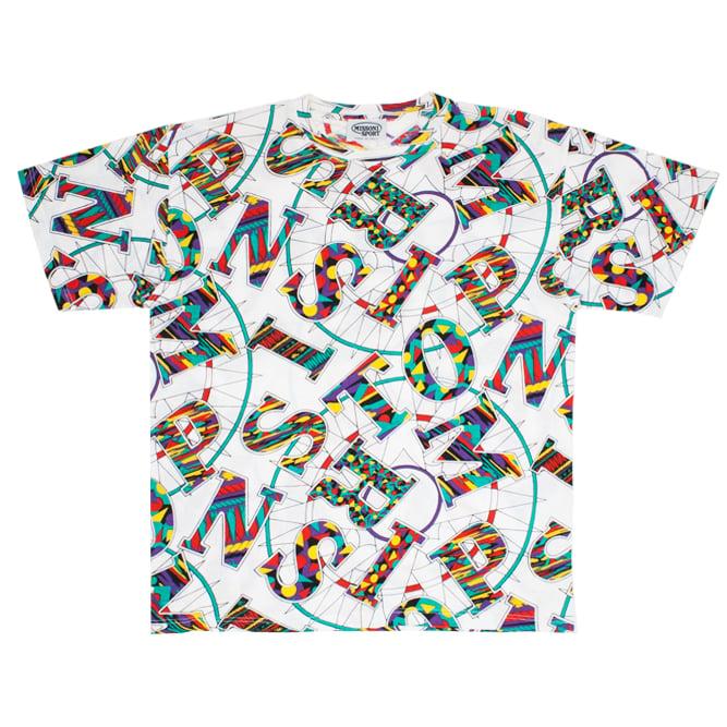 Image of Missoni Sport Vintage Graphic Tshirt Unisex