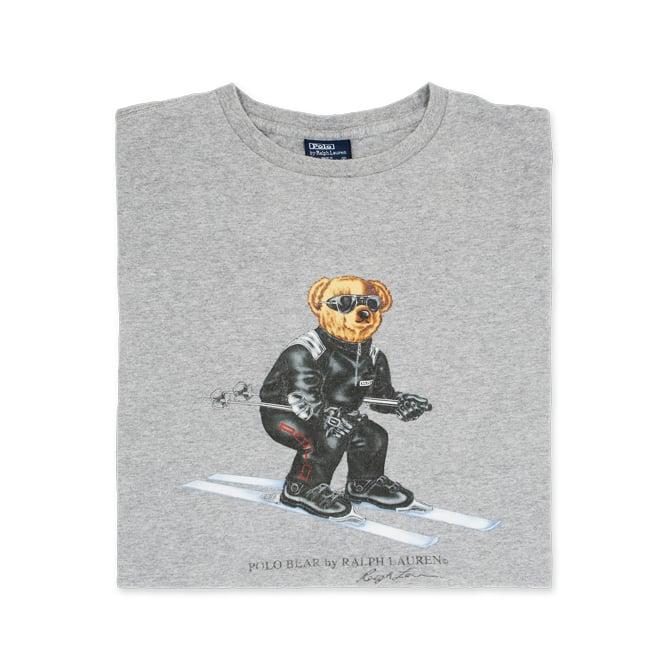 Ralph Polo Lauren Ski T Shirt Bear 8k0wNnOXZP