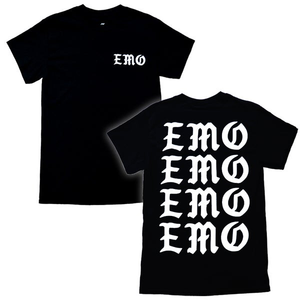 "Image of ""EMO"" T-Shirt - Black"
