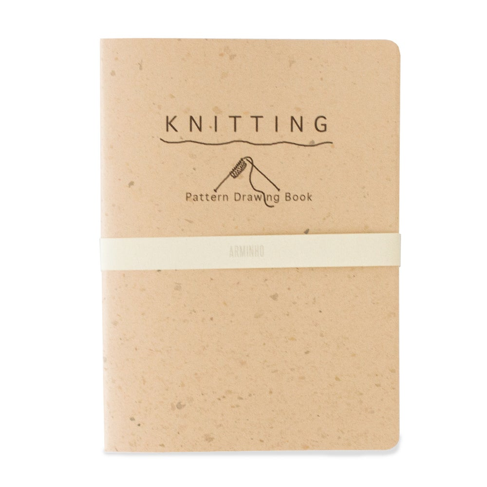 Image of Knitting Pattern Drawing Book