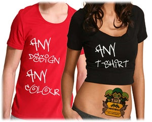 Image of Customize your own t-shirt