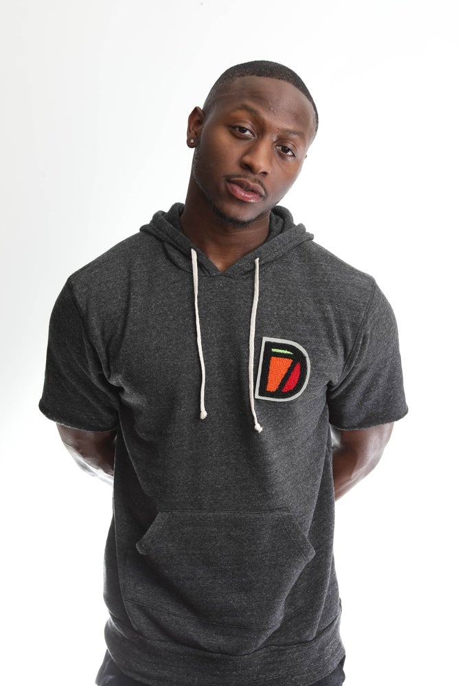 Image of University Short Sleeve Hoodie