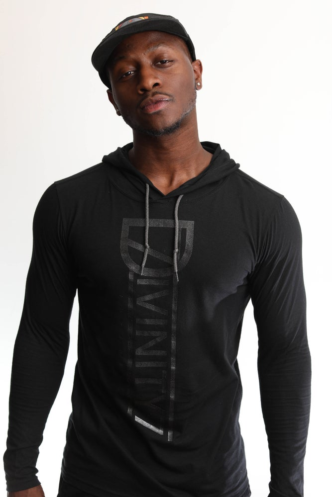 Image of Divinity Guard Black T-Shirt Hoodie