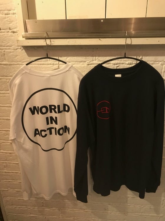 """Image of HELM """"WORLD IN ACTION"""" LONG SLEEVE SHIRT"""