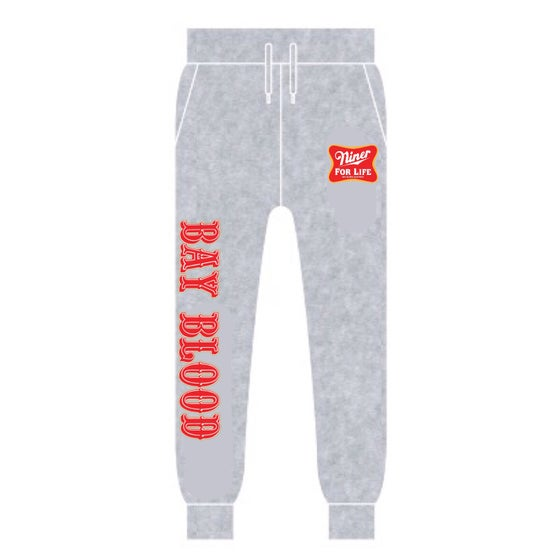 Image of Niner For Life Joggers (Grey)