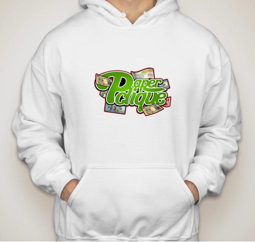 Image of Paper Clique Hoodie in White