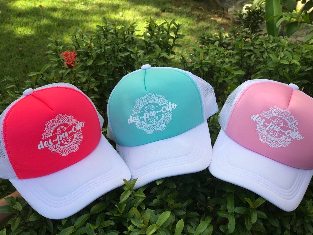 Image of Despacito Pastel Colors Trucker Hat