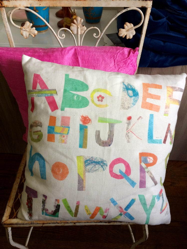 Image of Alphabet Pillow