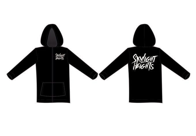 Image of Skylight Heights Hoodie Black