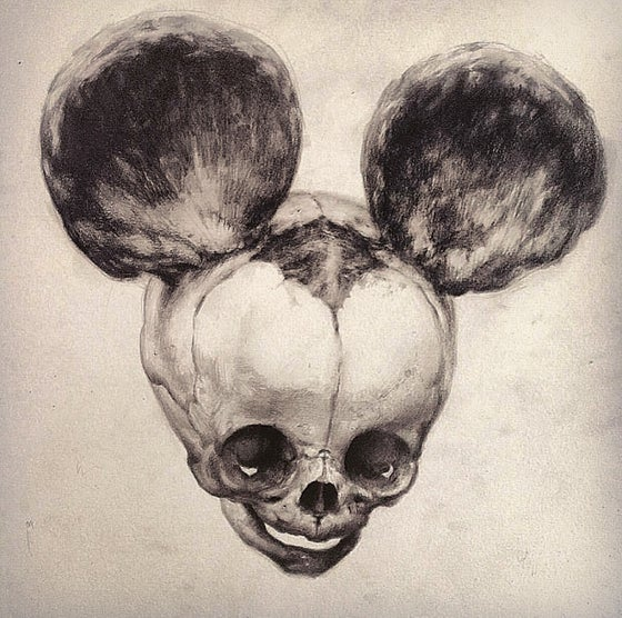 Image of 'FOETAL MOUSE' - Original Artwork - Graphite on Paper