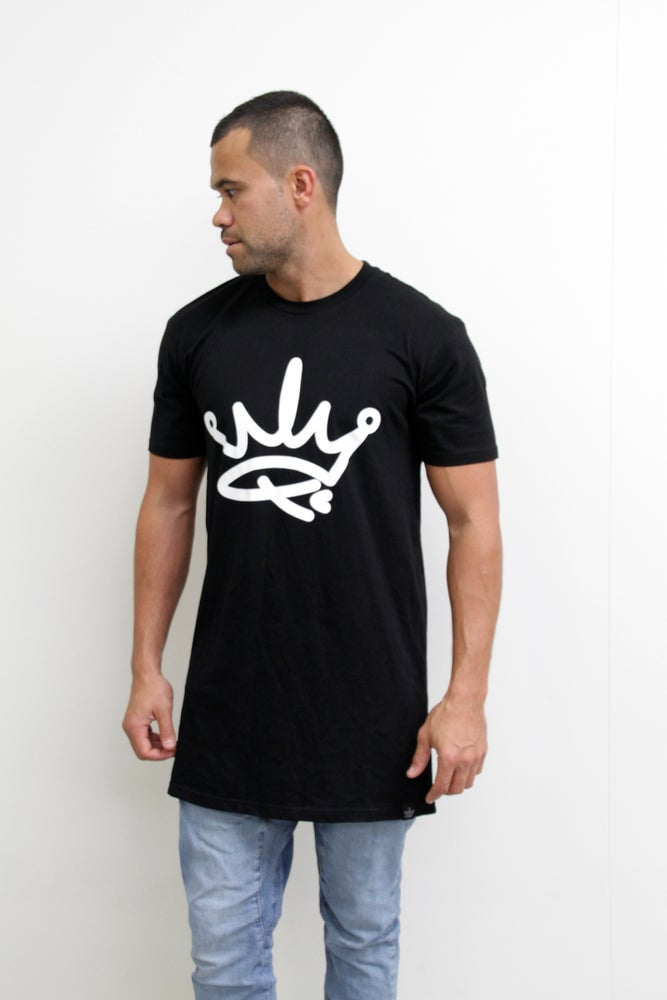 Image of KINGS TEE - BLACK