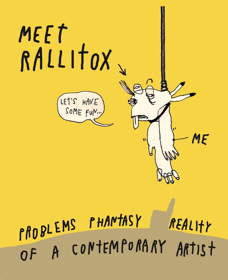 Image of Meet Rallitox / online comic book