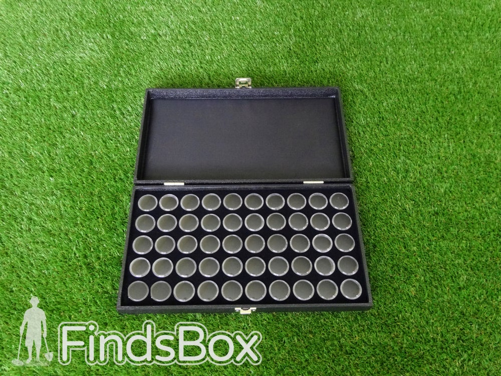 Image of 50 Capsule Display Case- Presents For People Who Metal Detect