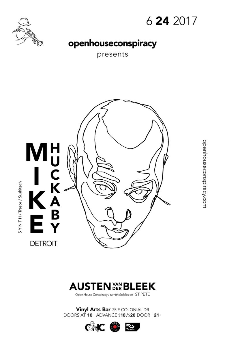 Image of Mike Huckaby Ticket