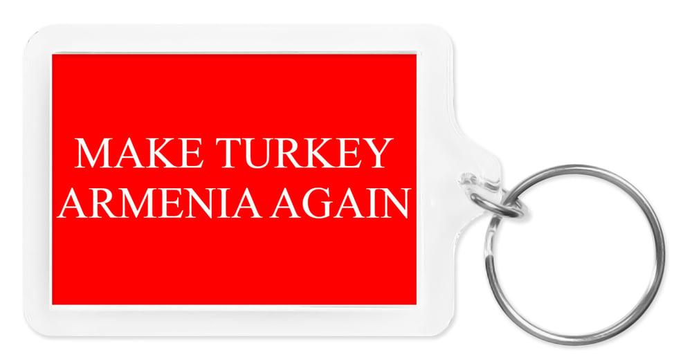 Image of Make Turkey Armenia Again keychain