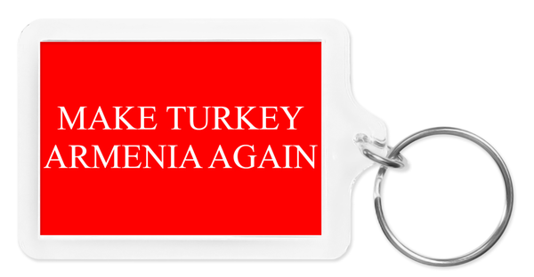 Image of Make Turkey Armenia Again keychain