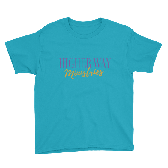 Image of Youth HWM T Caribbean Blue