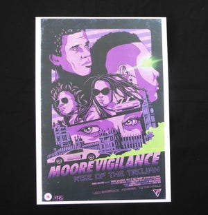 'VHS' A4 Print - Moore Vigilance