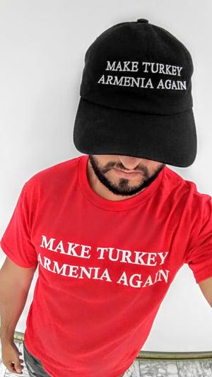 Image of Make Turkey Armenia Again hat - Black