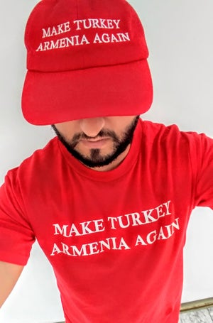 Image of Make Turkey Armenia Again shirt - Red