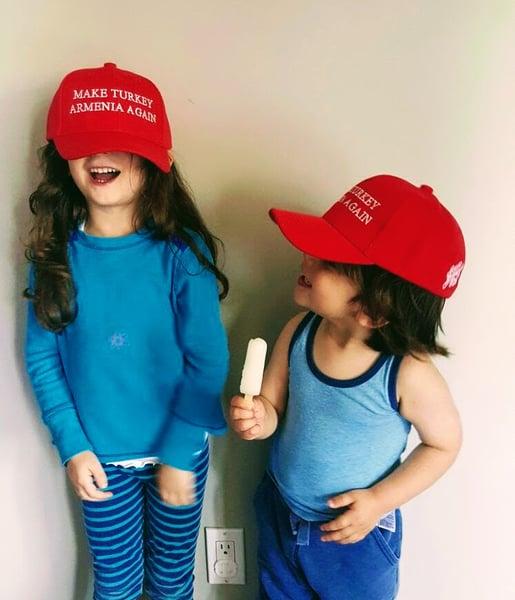 Image of Make Turkey Armenia Again - Kids hat