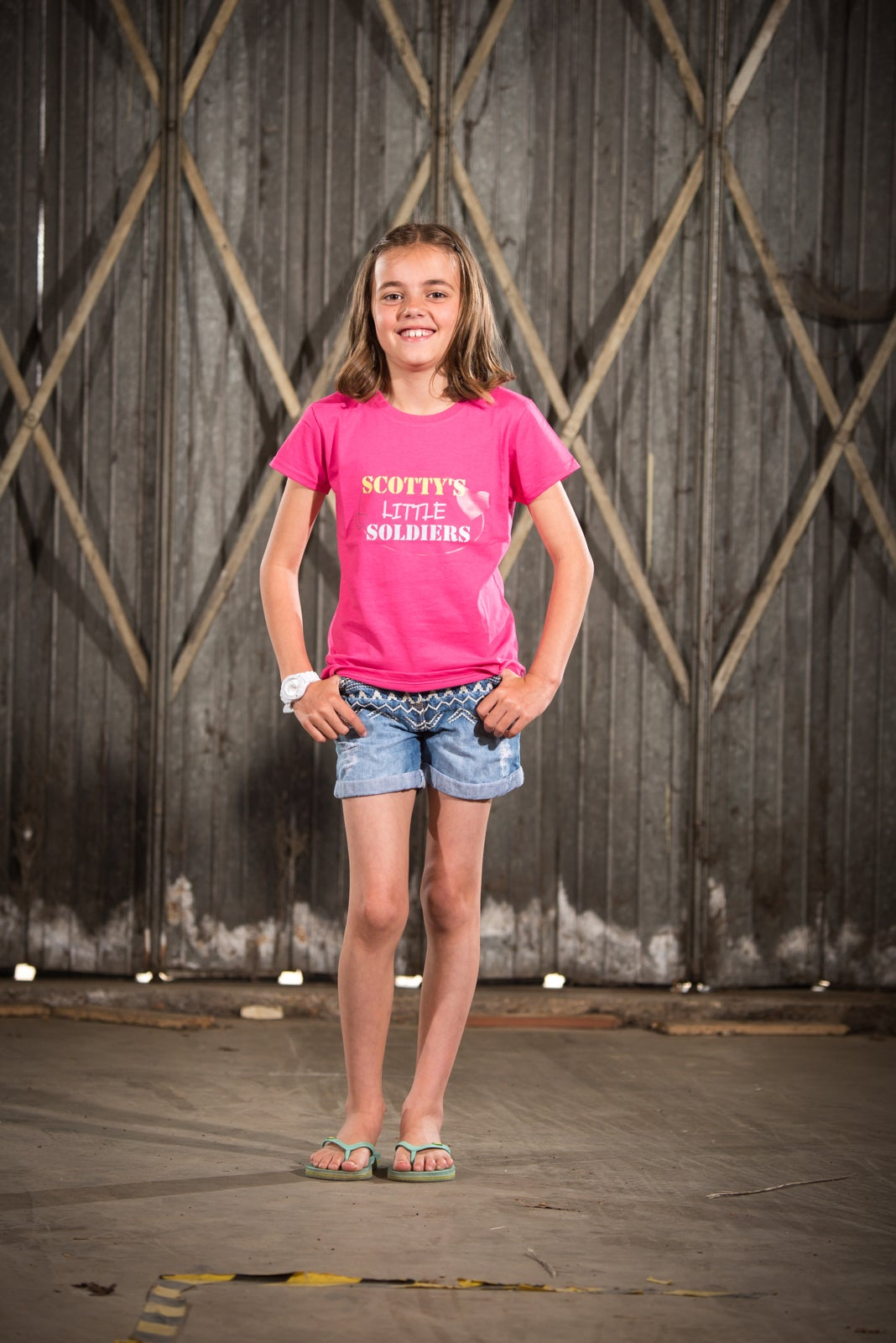 Image of Kids Pink T-Shirt