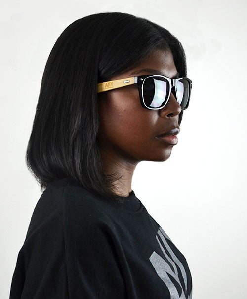 Image of AllY Bamboo Sunglasses