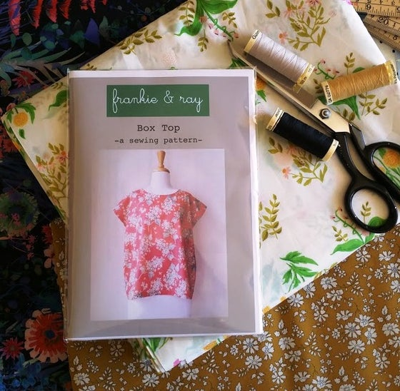 Image of Frankie & Ray Box Top - sewing pattern