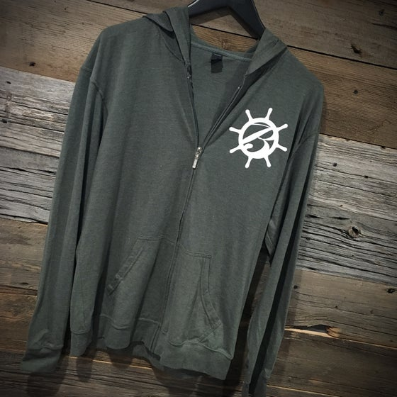 Image of BlackSails Studio Lightweight Zip-Up Hoodie