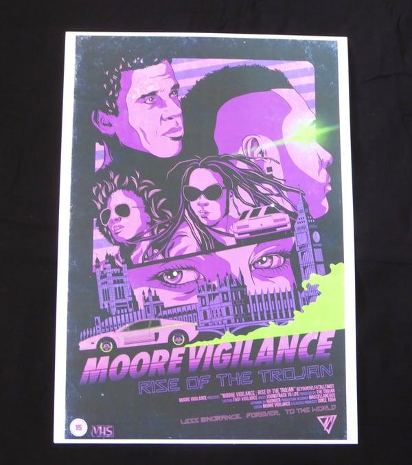 'VHS' A3 Print - Moore Vigilance