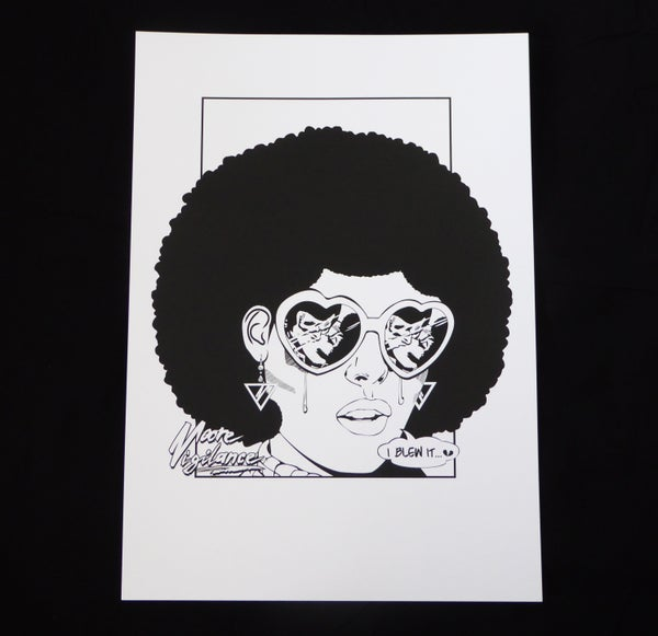 'I BLEW IT...' A3 Print - Moore Vigilance