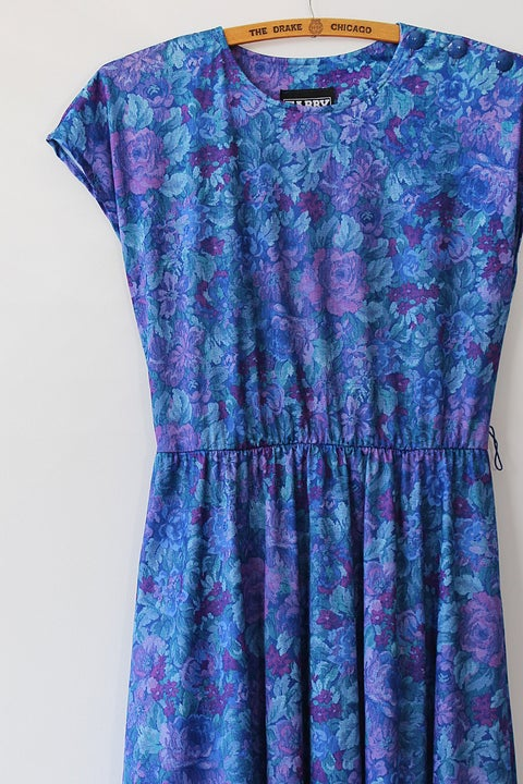 Image of SOLD Blue Garden Dress