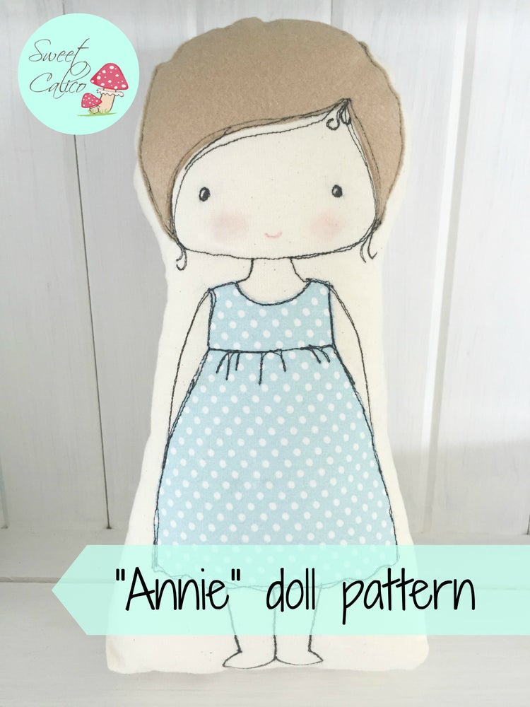 Image of Pattern for Annie doll