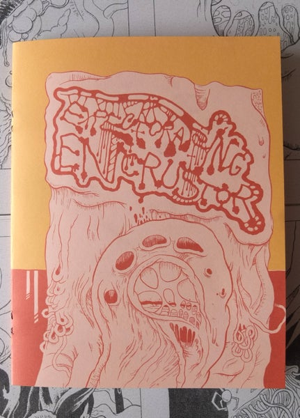 Image of Expectorating Encrustor - Bio Art Zine