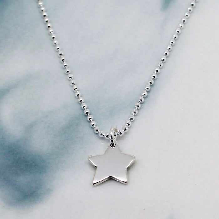 "Image of ""Little Silver Star"" Necklace"