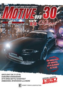 Image of Motive DVD #30 - 2017 GT-R Challenge -  DVD or Blu Ray
