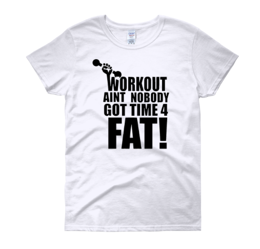 "Image of ""Workout"" Tee WHITE"
